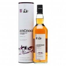 AnCnoc 18 Years Old Single Malt Highland Whiskey, 0,7 l