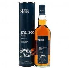 AnCnoc 24 Years Old Single Malt Highland Whiskey, 0,7 l