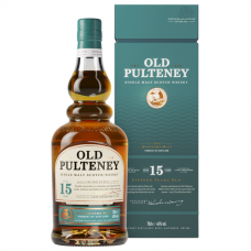 Old Pulteney 15 year old, 0,7 l