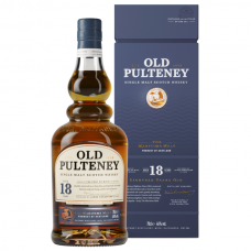 Old Pulteney 18 years old, 0,7 l