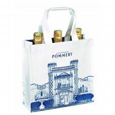 Pommery krepšys 3 buteliams